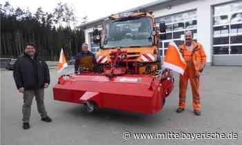 Neue Kehrmaschine für den Gemeindebauhof Zandt - Mittelbayerische