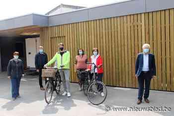 Fietsend personeel staat niet meer in de kou in Lendelede - Het Nieuwsblad