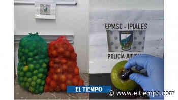 En bulto de 'narconaranjas' iban a entrar droga a cárcel de Ipiales - El Tiempo