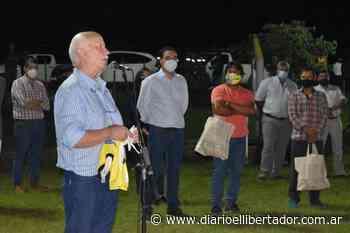 Estrenaron en el Puerto Boca un sistema lumínico - Diario El Libertador