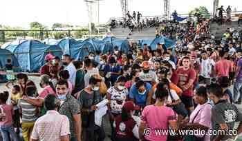 Se cumple un mes de la emergencia sanitaria en Arauquita por llegada de desplazados - W Radio