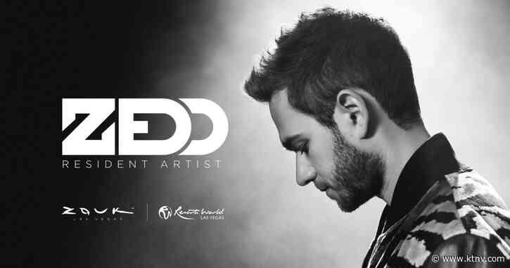 DJ and producer Zedd announced as first resident headliner at Resorts World - KTNV Las Vegas