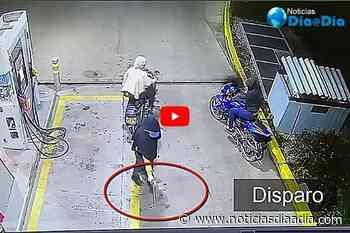 Cayó presunto asaltante de Estación de gasolina en Tausa, Cundinamarca - Noticias Día a Día