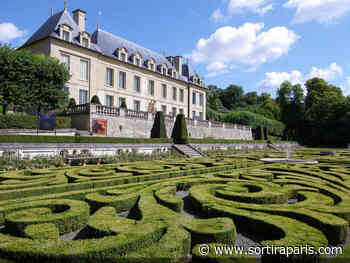 Les jardins du château d'Auvers-sur-Oise rouvrent leurs portes - sortiraparis