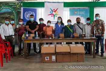 Entregaron dotación a comunidades indígenas afectadas por violencia en Ricaurte y Tumaco - Diario del Sur