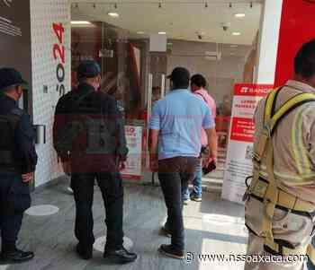 A dos cuadras del palacio municipal de Tehuantepec, asaltan un banco - www.nssoaxaca.com
