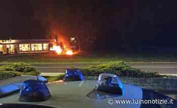 Nella notte in fiamme furgoni a Cuveglio, indagano i carabinieri - Luino Notizie