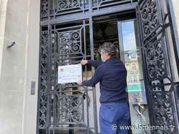 La nouvelle entrée de l'hôtel de Ville de Rethel sera prête lundi - L'Ardennais