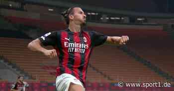Vertrag verlängert: Zlatan Ibrahimovic bleibt noch ein Jahr beim AC Mailand - SPORT1