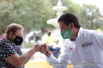 Refrenda Jaime Bueno compromiso con Parras de la Fuente - El Heraldo de Saltillo