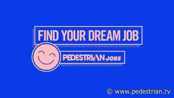 Feature Jobs: Creative Cubes Co, Soda Communications & The PAS Group - Pedestrian TV