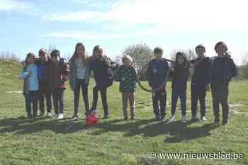 Jonge tennissertjes genieten van stage - Het Nieuwsblad