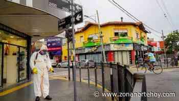 Operativo de desinfección en el Centro Comercial Munro - zonanortehoy.com