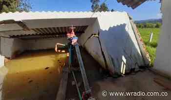 Boyacá: Denuncian en Tinjacá abandono de pozo profundo y red de distribución - W Radio