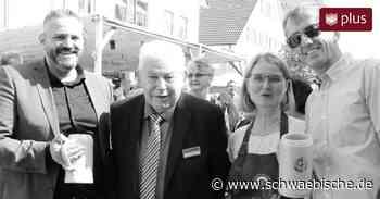 Bad Wurzach: Stadtfest-Gründer Anton Michelberger ist tot - Schwäbische