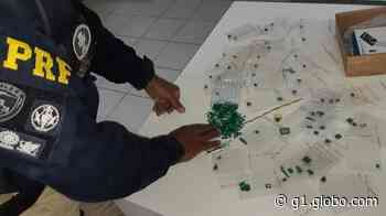 PRF flagra homem com esmeraldas na rodovia Fernão Dias em Vargem, SP - G1