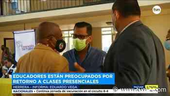 Educadores y autoridades se reúnen en Chitré para el retorno a las aulas - TVN Panamá