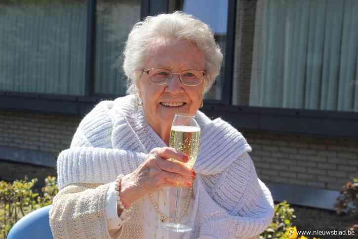 Rachel vierde haar 101 ste verjaardag