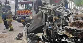 Dramático accidente sucedió en la vía Popayán – Totoró - Diario del Sur