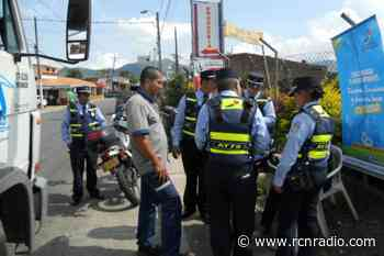 Cinco agentes de tránsito han sido agredidos en Santa Fe de Antioquia, en la última semana - RCN Radio