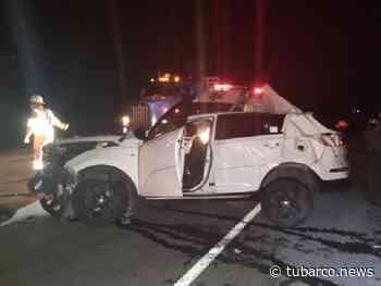 Tres heridos en accidente de tránsito en vía de Ponedera, dos son familiares de Teófilo Gutiérrez - TuBarco