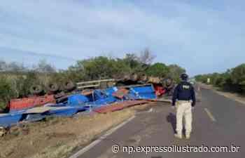 Acidente grave entre Itaqui e Uruguaiana - Jornal Expresso Ilustrado