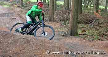 Bikepark: Mountainbiker von Grüne Hölle Freisen haben neue Strecke - Saarbrücker Zeitung