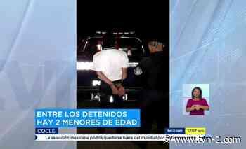 Dos menores entre los detenidos por robo a minisúper en Churuquita Grande - tvn-2.com