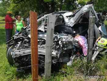 Dos mujeres murieron en accidente vial entre Buenavista y La Apartada - LA RAZÓN.CO