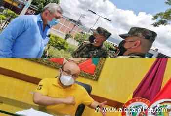 Se reunió el comandante de la Sexta Brigada con los alcaldes del norte del Tolima - Alerta Tolima