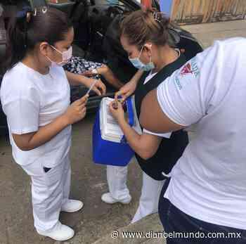 Acaba vacunación en Paso del Macho - Diario El Mundo de Córdoba