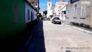 Conclusão da rua Osvaldo Cruz em Óbidos   Portal Obidense - Portal Obidense