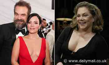 EDEN CONFIDENTIAL: Why Hollywood star Kathleen Turner gave Lily Allen's chap David Harbour a slap - Daily Mail
