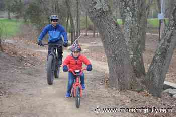 Stony Creek mountain bike trail project a hit with riders - The Macomb Daily
