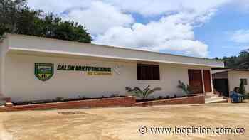 Inauguran Salón Multifuncional en la vereda El Carmen, Sardinata | La Opinión - La Opinión Cúcuta