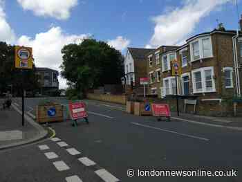 Lewisham partial road block which caught out 17000 drivers is given new sign - London News Online