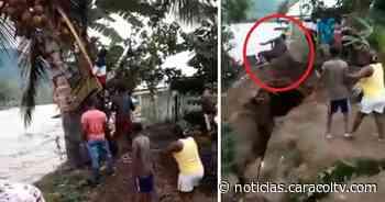 Hombre que bajaba cocos para dar a los niños en Vigía del Fuerte fue arrastrado por un río - Noticias Caracol