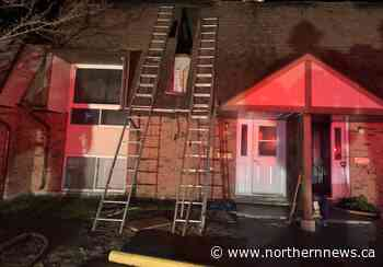 Fire early Wednesday displaces two Hanmer families - Northern Daily News