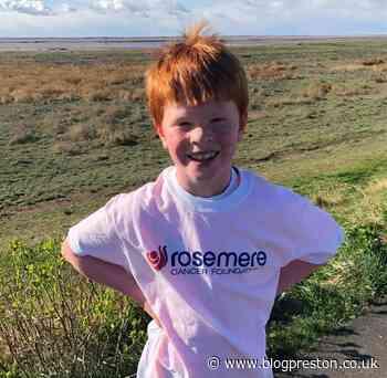 Kirkham eight-year-old takes on half marathon for Rosemere - Blog Preston