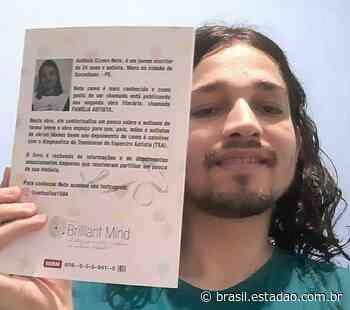 Escritor autista de Garanhuns lança segundo livro - Brasil Estadão