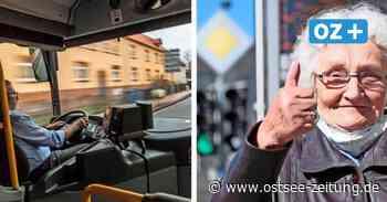 Rentner in Stralsund sollen bald kostenlos Busfahrern - Ostsee Zeitung