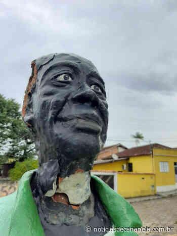 Prefeitura de Cananeia emite nota de Repúdio Depredação do busto de Theodolina Gomes (Tiduca) - Noticia de Cananéia