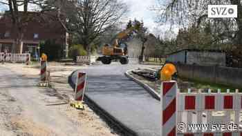 Straßenbau rund um Hagenow: Ab Montag weitere Vollsperrung in Bresegard bei Picher   svz.de - svz.de