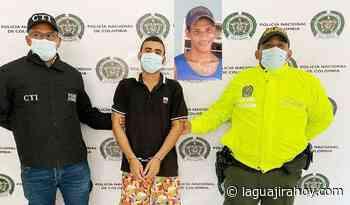 Capturan en Bosconia a guajiro, señalado de asesinar a un ciudadano en Maicao - La Guajira Hoy.com
