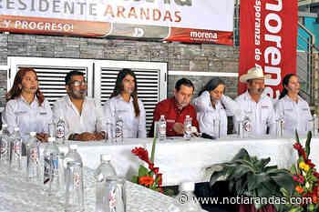 Morena presentó su planilla - NotiArandas