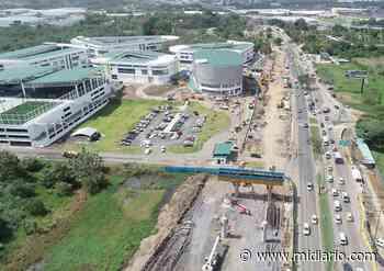 Atentos. Anuncian cierre e inversión de carriles en la vía Tocumen. Avanzan los trabajos por la ramal - Mi Diario Panamá