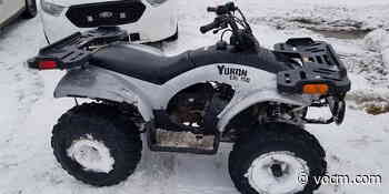 Grand Falls-Windsor Man Arrested After Fleeing From Police on ATV - VOCM