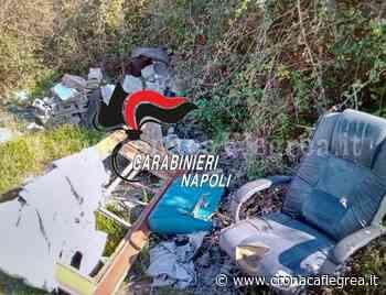 Earth day, controlli a tappeto dei carabinieri: tra Licola e Varcaturo rifiuti speciali gettati in un terreno - Cronaca Flegrea