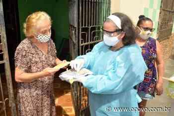 Em Reriutaba, 193 profissionais de saúde recebem 14º salário por combater o coronavírus - O POVO