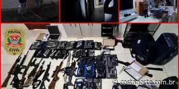 Polícia Civil apreende verdadeiro arsenal bélico em Caieiras - Jornal Costa Norte